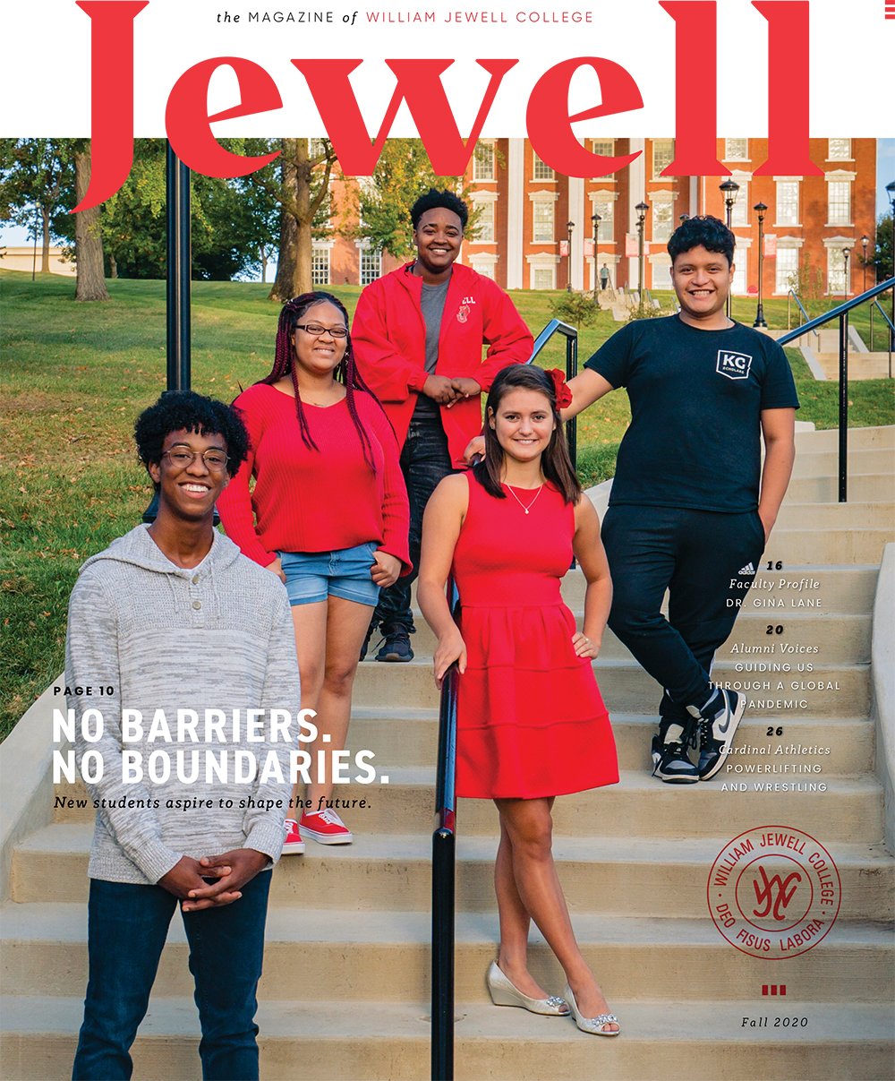 Fall 2020 Jewell magazine cover