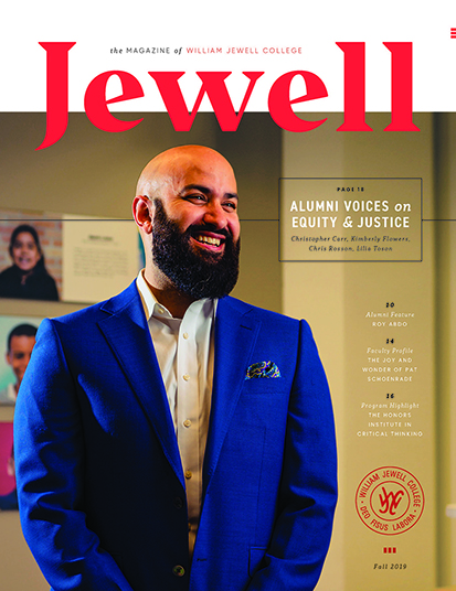 Fall 2019 Jewell magazine cover