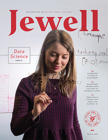 Winter 2019 Jewell magazine cover